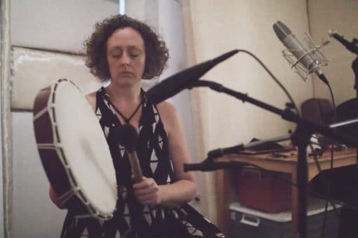 Recording Shamanic Drum Journey To The Womb