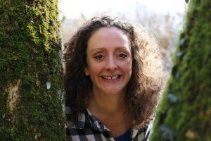Melanie Swan, in the trees