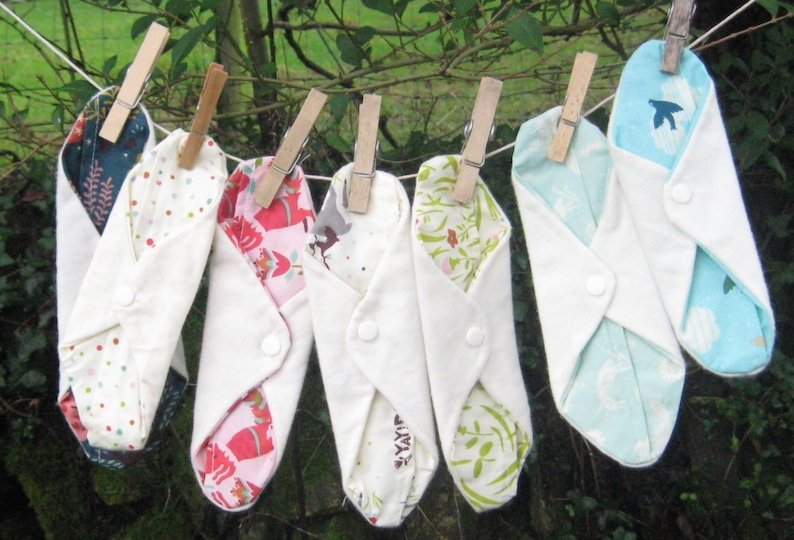 How To Use And Care For Cloth Menstrual Pads – E6
